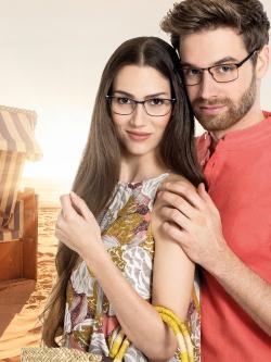 Brillen Werbekampagne