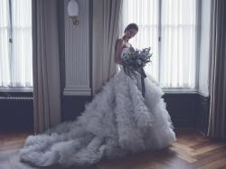 Hochzeitskleid Shooting mit Fotograf Adrian Ehrbar und Visagistin Jessica Krenn.