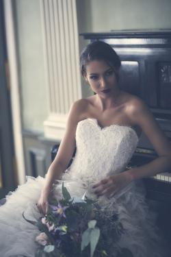 Hochzeitskleid Shooting